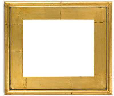 Classic Style Plein Air Antique Gold Leaf Wood Frame Size 11x14 Inches