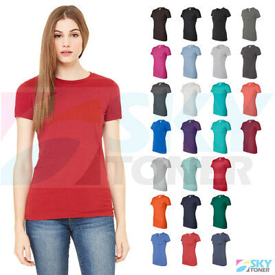 96cf2573e Bella + Canvas Women's The Favorite Tee Short Sleeve Crewneck T-Shirt 6004