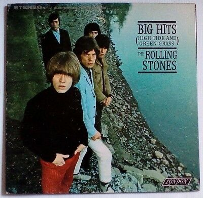 Rolling Stones - Big Hits (High Tide And Green Grass) LP Vinyl, 1971 US pressing
