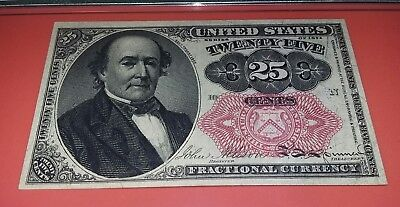 U.S.  $0.25 Cent Fifth Issue Fractional Currency  Fr.1309 PMG 65EPQ GEM UNC