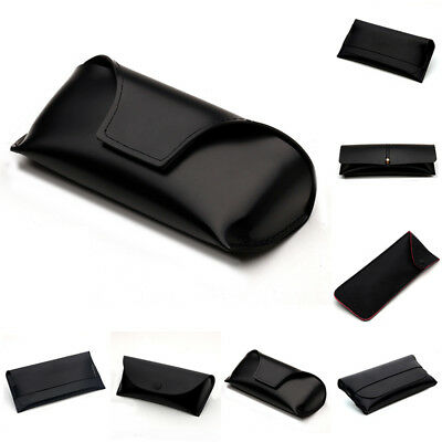 568610d7aeb1 Soft PU Leather Eyeglasses Sunglasses Reading Glasses Carry Case Pouch Bag