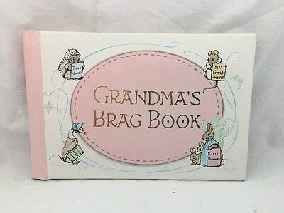 Vintage 1976 Gibson BEATRIX POTTER Grandma's BRAG BOOK Photo Album