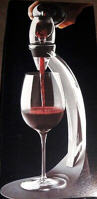 White Red Wine Aerator Pour Spout Bottle Stopper Decanter Pourer Aerating&Pouch