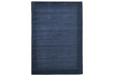 Cut and Loop Pile Rug Blue 280x190cm