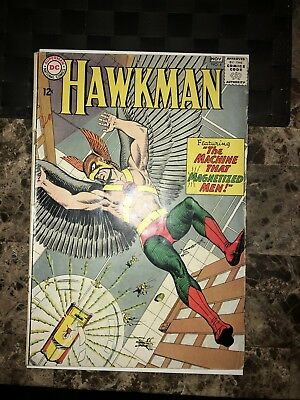 Hawkman #4 (Oct-Nov 1964, DC) 1st Appearance Of Zatanna