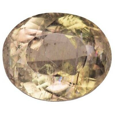 6.050 ct Amazing rare rutil color change natural diaspore oval gems  see video