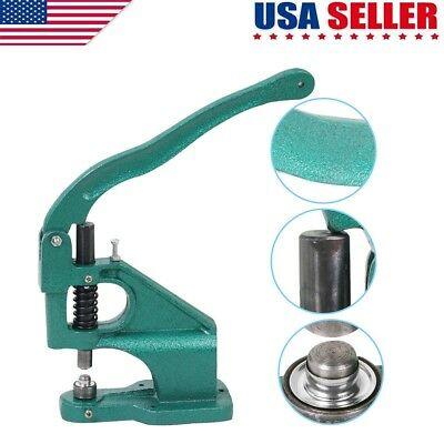 Heavy Duty Hand Press Grommet Machine Hole Punch Tool Press Sign Banner US Selle