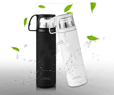 Hot Stainless Steel Thermos Cup Travel Mug Office Tea Coffee Water Cup Bottle