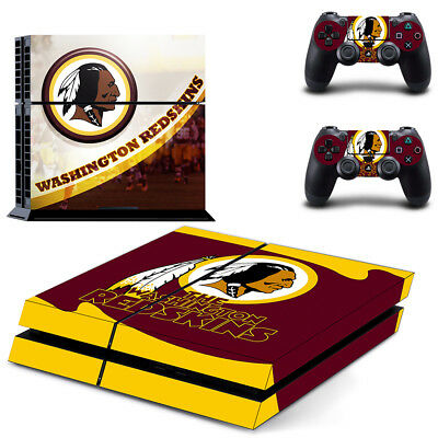 Precise Washington Redskins Nfl Football Super Skin Sticker For Playstation 4 Pro Ps4 Video Games & Consoles Video Game Accessories