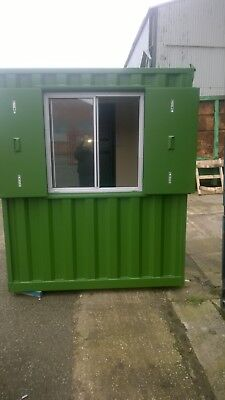 Security Hut 6ft x 6ft Gate House £2000.00