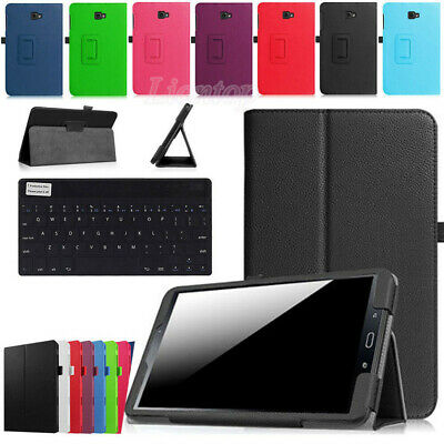 "For Samsung Galaxy Tab A 8"" SM-T350 T355 SM-T355Y Leather Case Cover Keyboard YH"