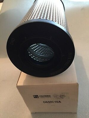 Genuine Filtrec D650C10A Hydraulic Oil Filter