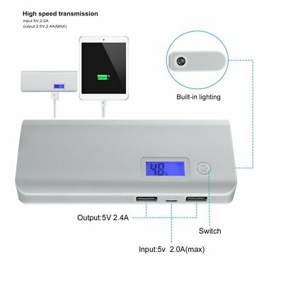 50000mAh External Power Bank Portable USB Battery Charger For Mobile Phone BE