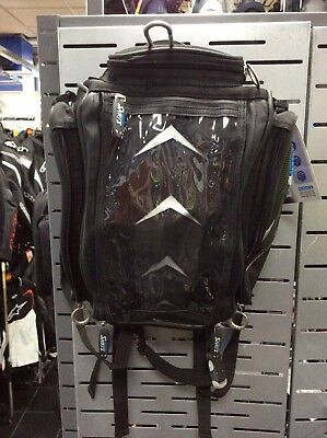 Oxford Hump Back Tank Bag With Magnetic Base Motorcycle / Motorbike Luggage