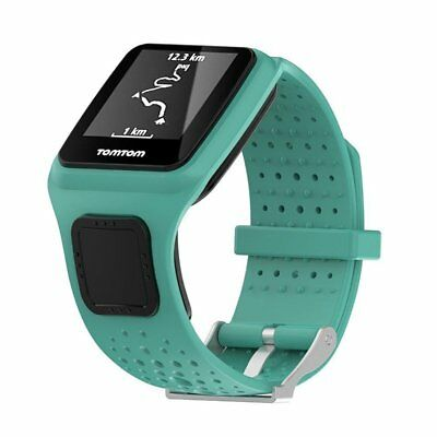 Replacement Silicone Wrist Strap for TomTom Runner Cardio Multi Sport GPS HRM