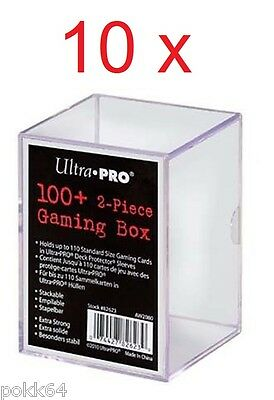 10 Ultra x Pro Deck Box deckbox Box arrangement gaming Box for 100+ cards 2080