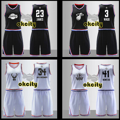 2018 NBA All Star Game #30 Stephen Curry Warriors Adult Man Youth Child Jersey