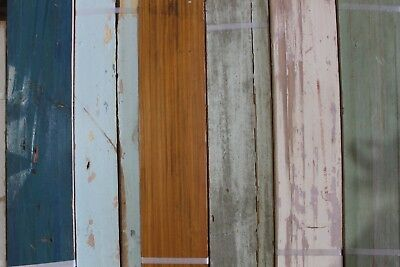 Real Reclaimed Wood Panels Planks Wall Feature Furniture Counter Finishing