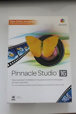 Corel Pinnacle Studio 16 HD Vollversion MiniBox