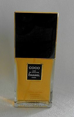 Flacon Parfum Factice dummy Coco de CHANEL EDT 100  ml plein