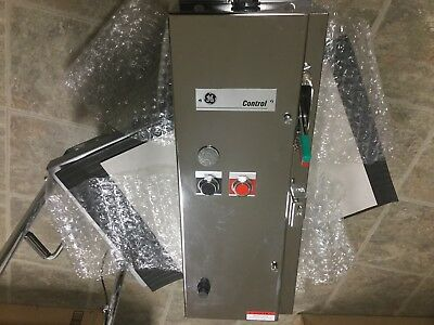 General Electric GE CR308B4041DADTJA Size 0 Combination Starter, SS, 120V Coil