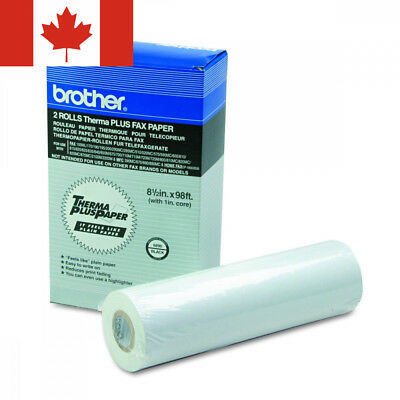 Brother Thermal Plus Fax Paper for Mfc-390mc2-Rolls8.5-Inch X 98-FeetRetail...