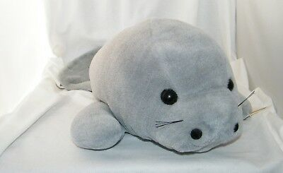 MJC Inc. A World of Equality Soft And Cuddly Plush Manatee / Sea Cow Approx. 23""