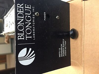 Blonder Tongue MIPS-12 Power Supply Stock # 7722a NEW IN BOX