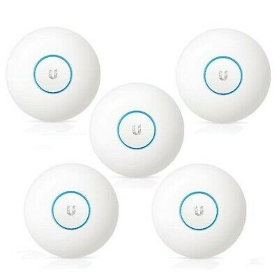 NEW! Pack of 5 UBIQUITI UniFi AC Long Range Wireless Access Point UAP-AC-LR-5