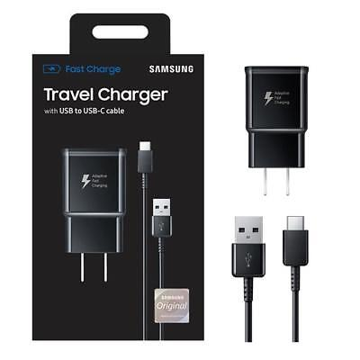 Samsung Adaptive Fast Travel Wall Charger for Galaxy S9/S8/Plus/Note 8 w/Cable