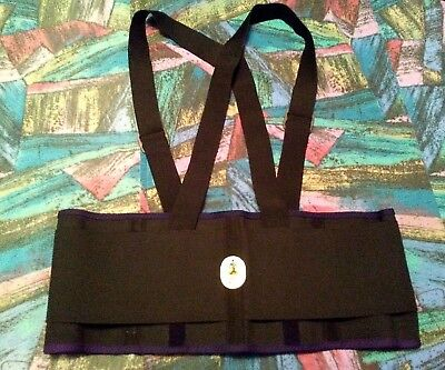 NWOT Proflex Ergodyne XL Back Brace Support Detachable Suspenders Work Gear 1650