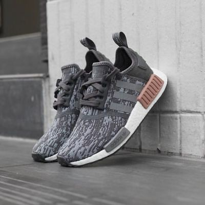 newest collection 341d2 15941 ADIDAS NMD R1 Nomad Runner PK Raw Pink Grey Brand New Women Size 4 ...