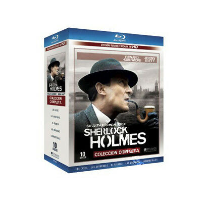 Sherlock Holmes Collection NEW Cult Series Blu-Ray 10-Disc Set Brett Hardwicke