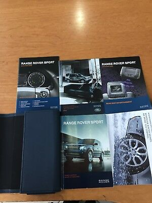 2012 Range Rover Sport Owners manual (English)