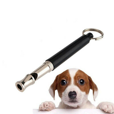 New Constant Frequency Professional Dog Training Whistle Key Chain Ring