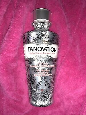 Tanovation by Tanovations XXX Black Energizing Bronzing Tanning Lotion Free Gift