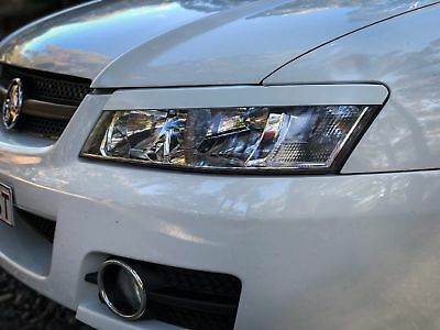 """Abs Plastic Holden Commodore/hsv """"vy"""" Head Light Eye Lid/ Eye Brows Ss/s/r8/gts"""
