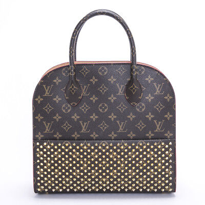 625f1935d922 LOUIS VUITTON x Christian Louboutin Monogram Iconoclasts Hand Bag M41234