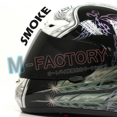 Smoke Helmet Visor for SHOEI CX1-V X-11 Raid 2 XR1000 X Spirit Multitech