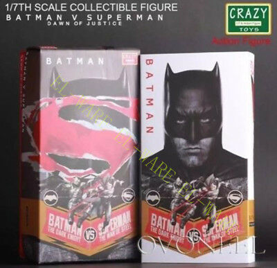 Crazy Toys DC Comic Batman V Superman Burce Wayne 10'' Action Figurine Modèle