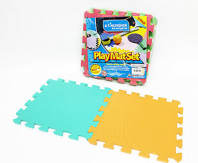 Play Mat set, (Pack of 9) Ideal for indoor & our Door use