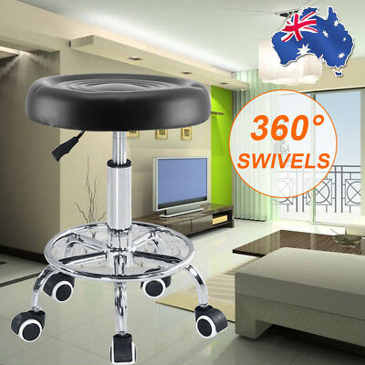 Salon Stool Hairdressing Chair Barber Beauty Swivel Hydraulic Lift PU Equipment