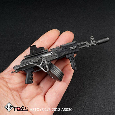 ASTOYS 1/6 scale plastic AK47 AKM assault rifle For 12'' Figure toys