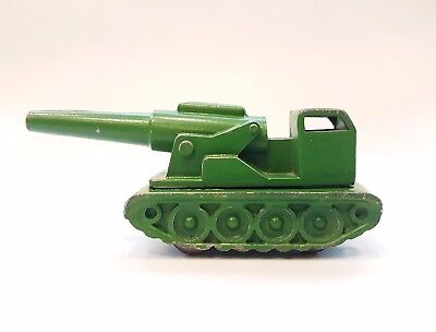 Vintage USSR Toy Self-propelled Artillery Cannon Armor Vehicles metal model 1960