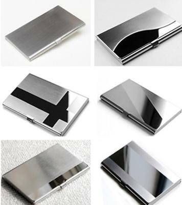 Creative Commodity Aluminum Holder Metal Case Credit ID Card Business Wallet