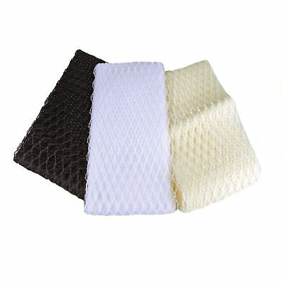 BR004 20cm Wide Waffle Veiling