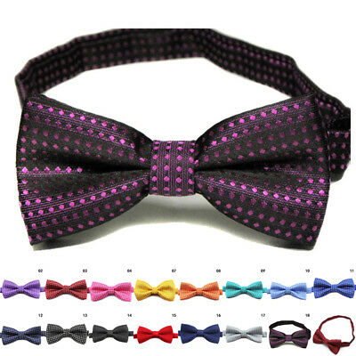 DOG BOW TIE Adjustable Pet Collar Grooming For Cat Kitten Puppy Necktie Bowtie