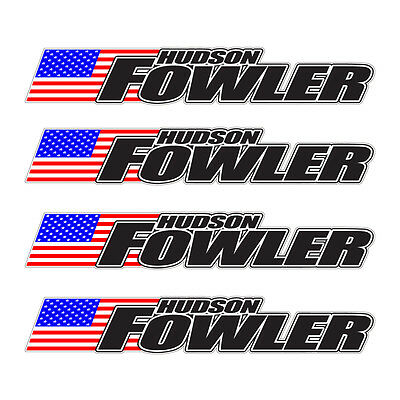 4 piece custom bicycle frame name usa decal set cycling mtb road bike hudson