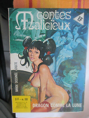 elvifrance contes malicieux n° 38 tbe comme neuf