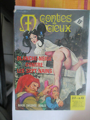 elvifrance contes malicieux n° 43 tbe